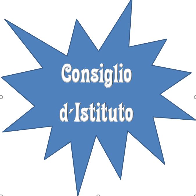 Convocazione Consiglio d'Istituto STRAORDINARIO